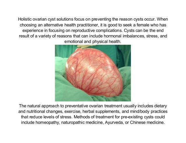 Ovarian Cyst Pain 20121224