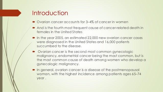 Ovarian cancer Slide 3