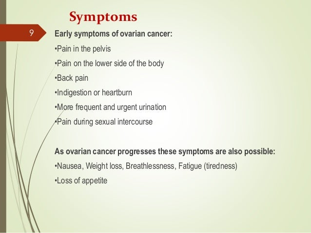 Ovarian Cancer Ppt