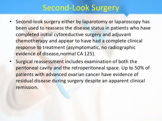 Epithelial Ovarian Carcinoma And Role Of Laparoscopy In Eoc