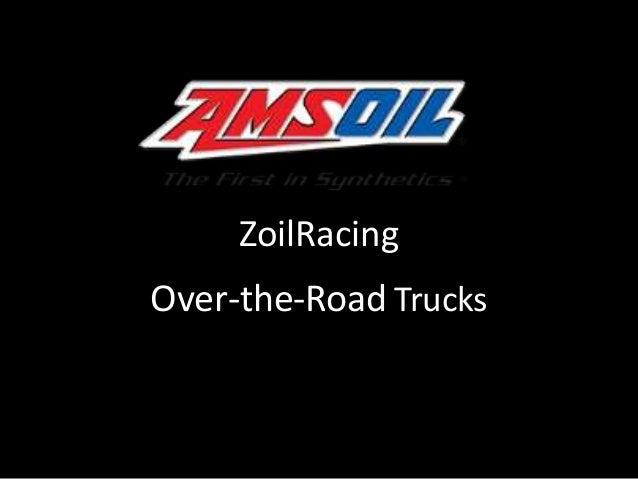 ZoilRacing  Over-the-Road Trucks