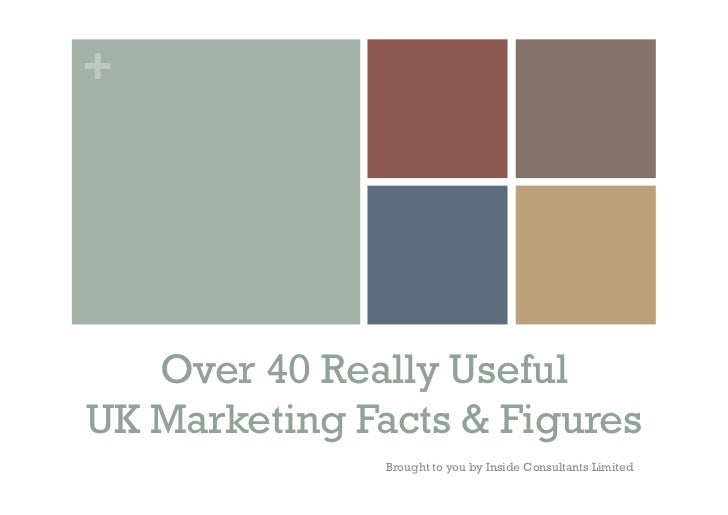 +   Over 40 Really UsefulUK Marketing Facts & Figures               Brought to you by Inside Consultants Limited