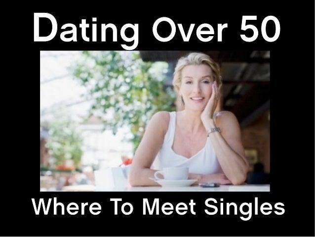 Singles over 50 in wolcott