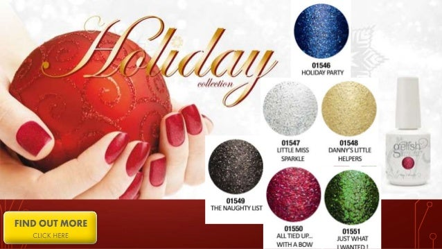 Gelish Color Swatches