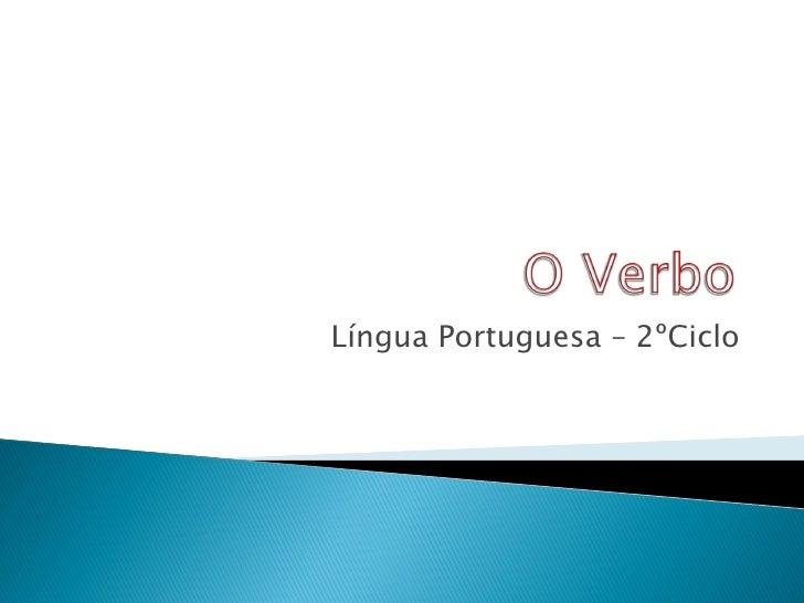 Língua Portuguesa – 2ºCiclo