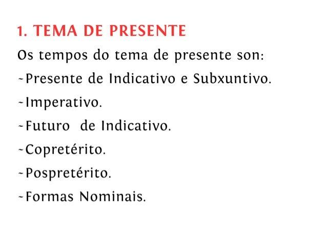 O verbo galego. Morfoloxía. Verbos irregulares Slide 3