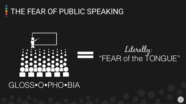 how to overcome fear of public speaking phobia