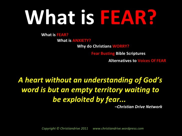 what is fear Fear is a normal human reaction that protects us by signaling danger and preparing us to deal with it get the facts about fears and phobias and what causes them.