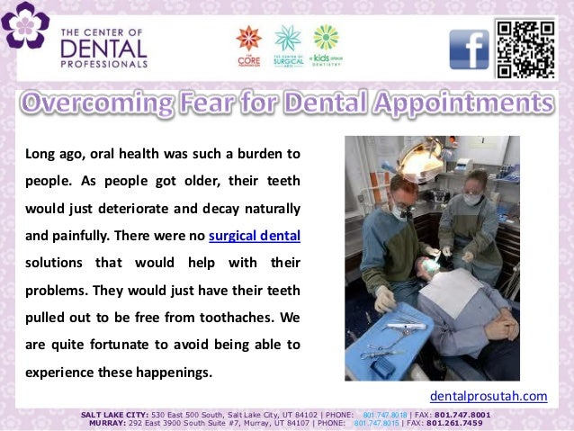Long ago, oral health was such a burden topeople. As people got older, their teethwould just deteriorate and decay natural...