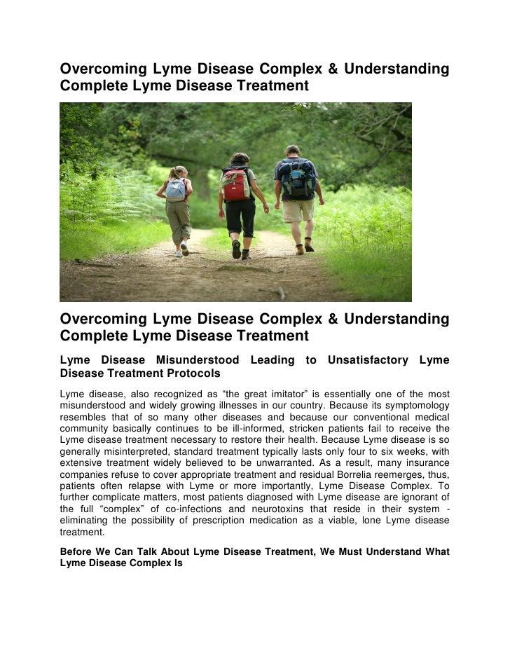 Overcoming Lyme Disease Complex & UnderstandingComplete Lyme Disease TreatmentOvercoming Lyme Disease Complex & Understand...