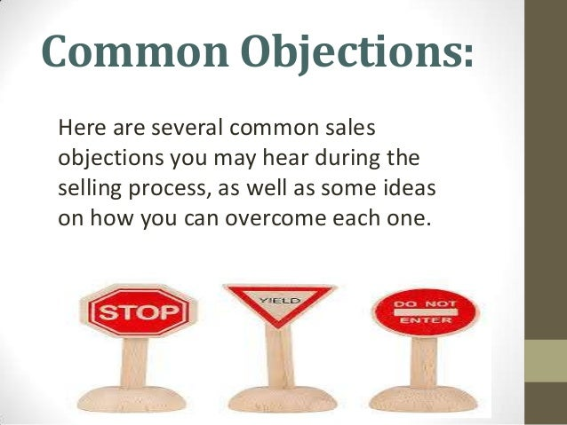 overcoming sales objections examples