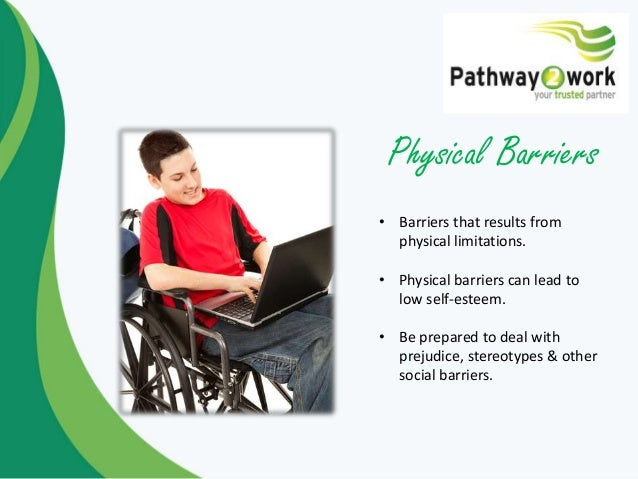 physical barriers in health and social care