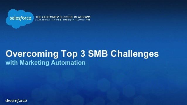 Overcoming Top 3 SMB Challenges  with Marketing Automation