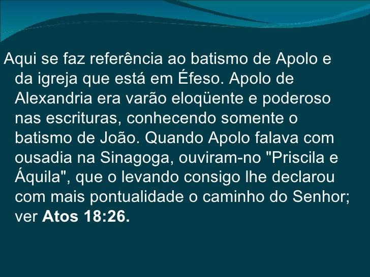 O Verdadeiro Batismo Biblico