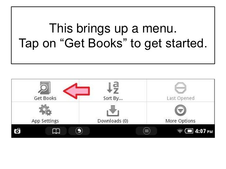 how to download overdrive to nook