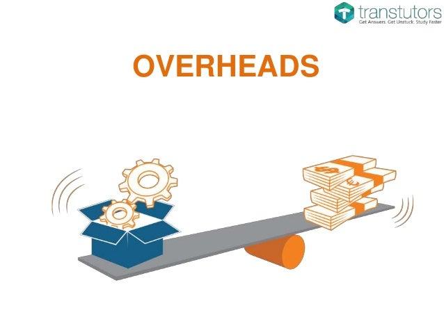 Overhead Costs