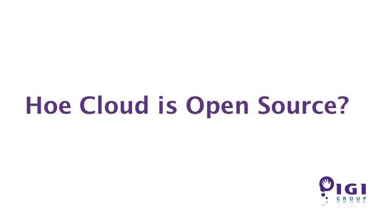 Hoe Cloud is Open Source?