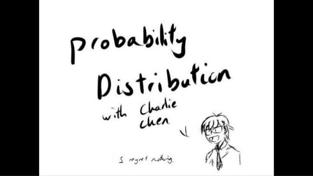 Maths presentation on probability distribution
