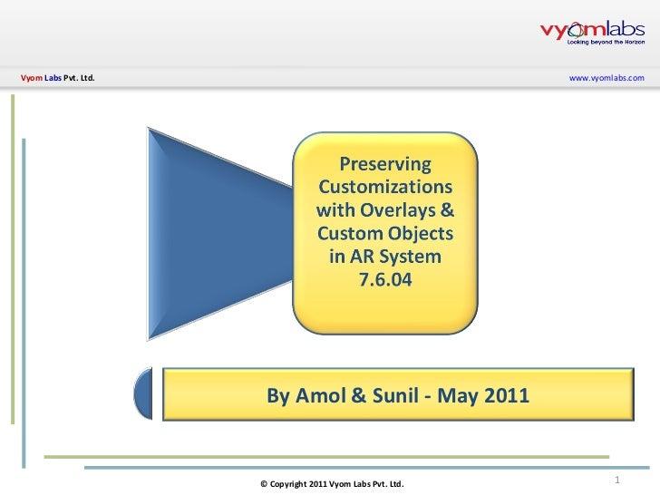 By Amol & Sunil - May 2011