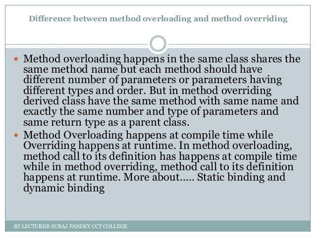 Overloading and overriding in vb net