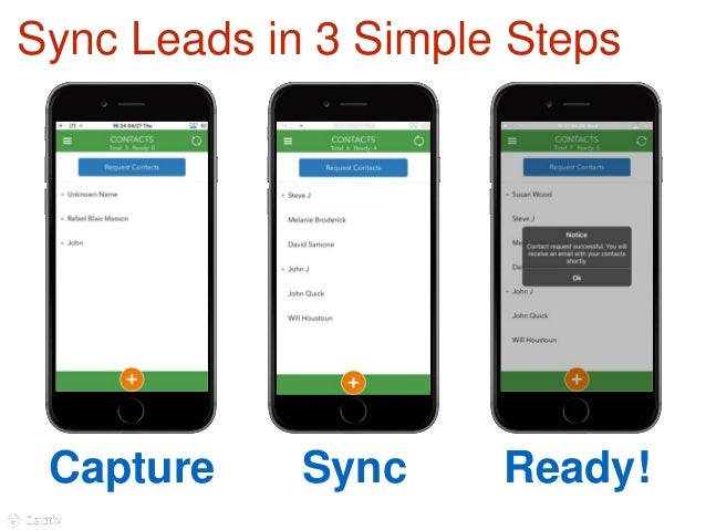 Overpass lead capture and business card scanning sync leads in 3 simple steps 10 capture sync ready colourmoves Gallery