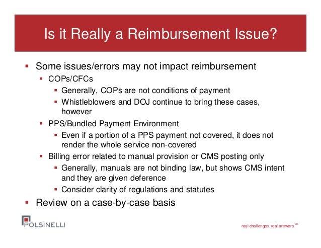 overpayments  audits and reimbursement conundrums 7 7 15 Criminal Justice Criminal Investigation Book