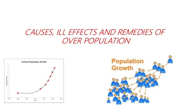 ill effects of overpopulation
