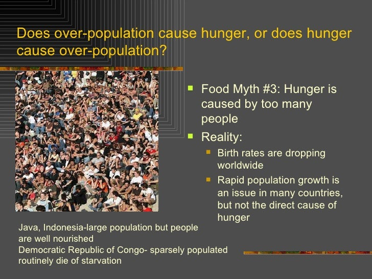 essays on overpopulation and world hunger