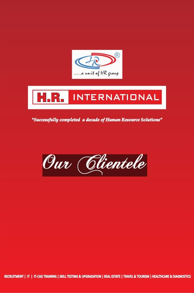 Overseas Clients of H R  International