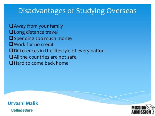 Advantages and Disadvantages of Studying in Foreign Universities