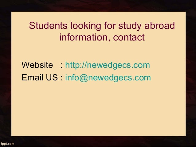 Study in Canada| Abroad Education Consultant India| VDIEC
