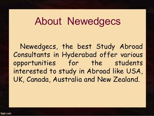 Overseas Education Consultants in Hyderabad | Study Abroad ...