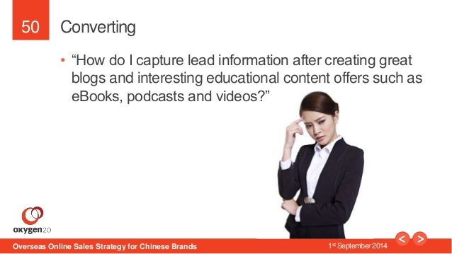"""50  Converting  • """"How do I capture lead information after creating great  blogs and interesting educational content offer..."""