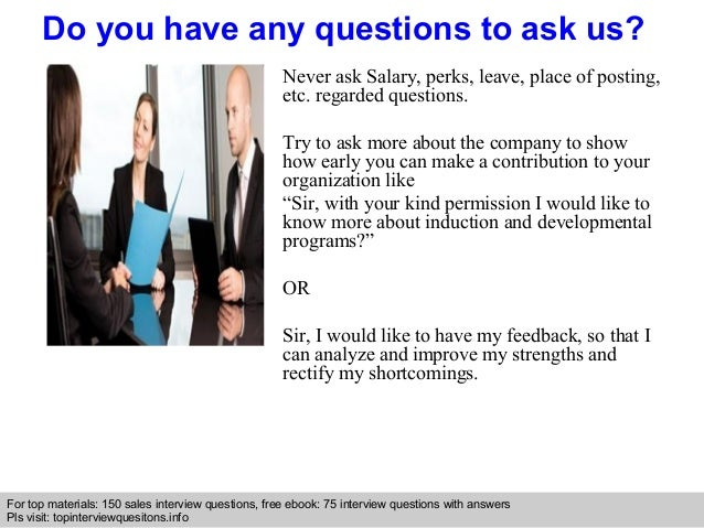 Overseas sales supervisor interview questions and answers