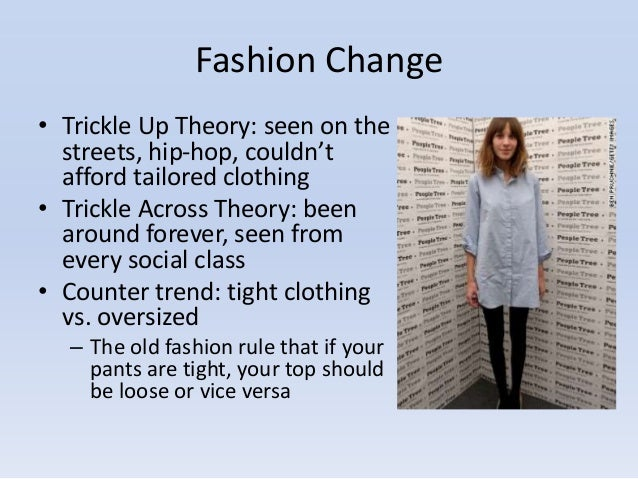 Trickle Across Theory Fashion Definition Essay - image 5