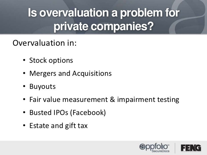 Stock options from private companies