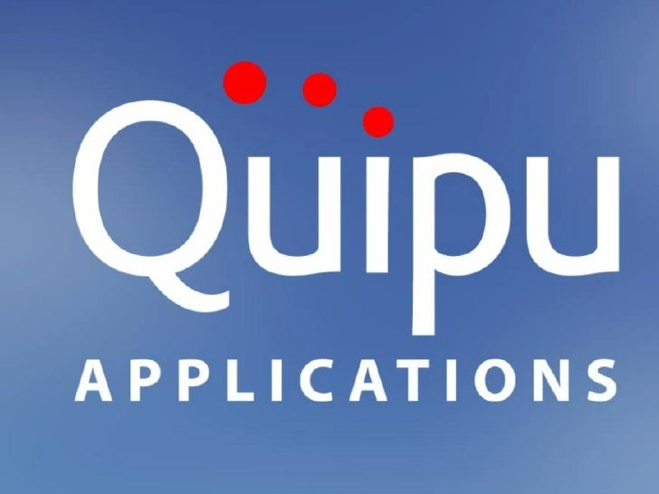 About Quipu ApplicationsQuipu Applications is a Cloud Based software companyfocused on streamlining business applications ...