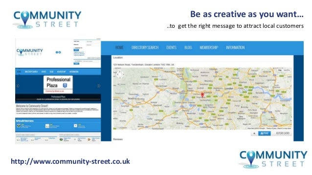 Communitstreetcouk Overview 638 Cb Creative Edit Courses Codes