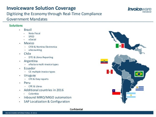 Overview Of Latin America Electronic Invoicing And Tax Reporting Requ - Mexico e invoicing cfdi mandates