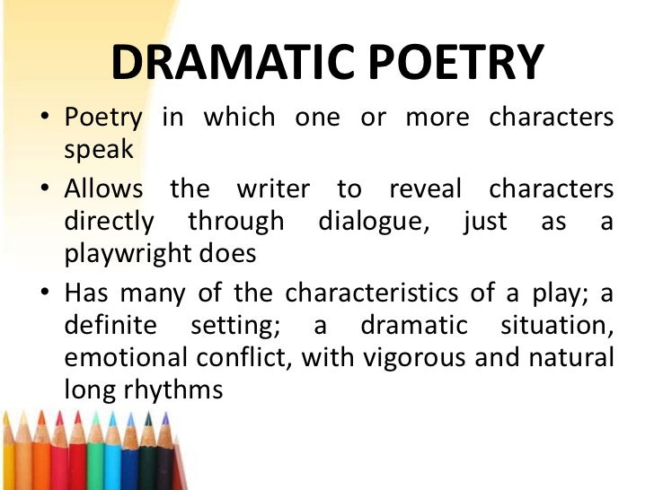 Dramatic monologue homework - What is a dramatic monologue? | eNotes