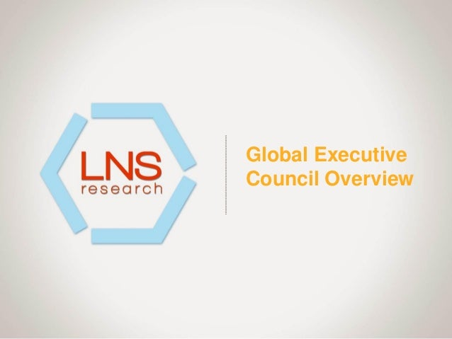 Global Executive Council Overview