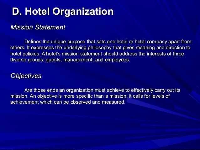 overview of the hospitality industry Developments and challenges in the developments and challenges in the hospitality and in the hospitality and tourism industry on.