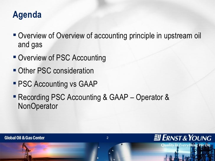 Overview Of Oil & Gas Accounting Slide 2