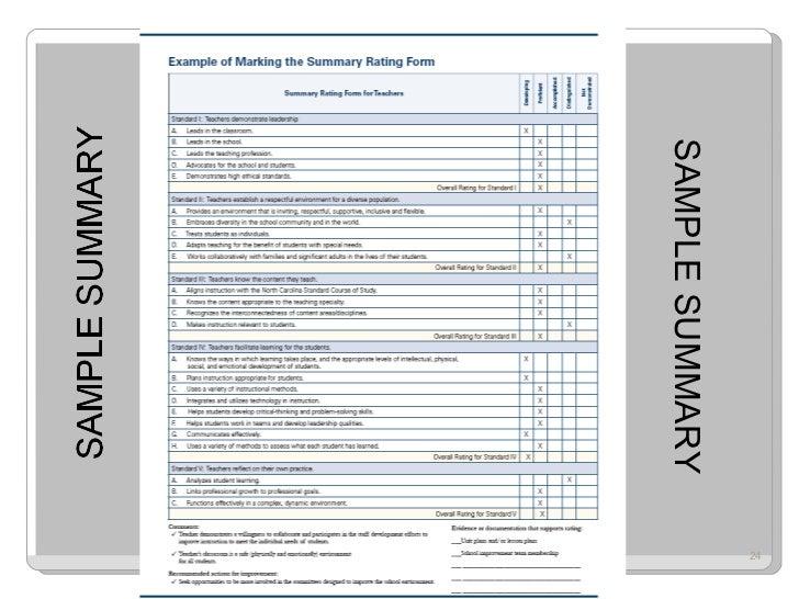 Sample Teacher Evaluation Form Example | Teacher Evaluation Forms Gotta Yotti Co