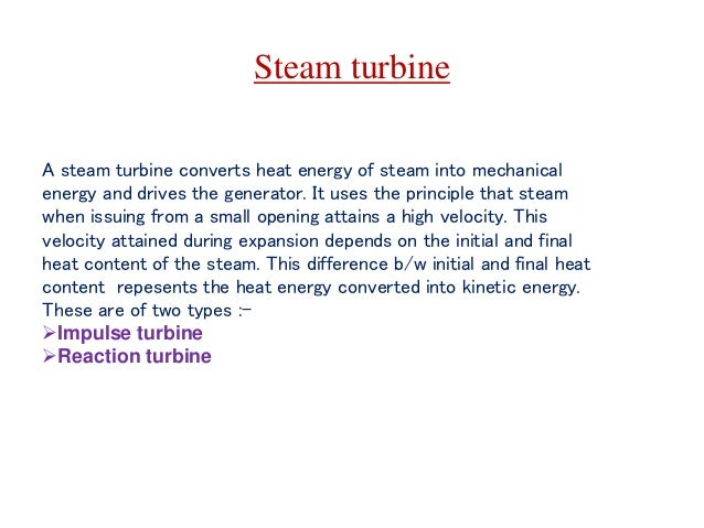 Overview of Thermal Power Plants