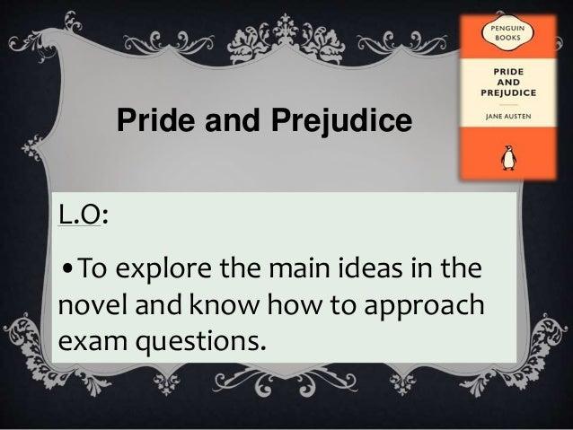 pride and prejudice exam