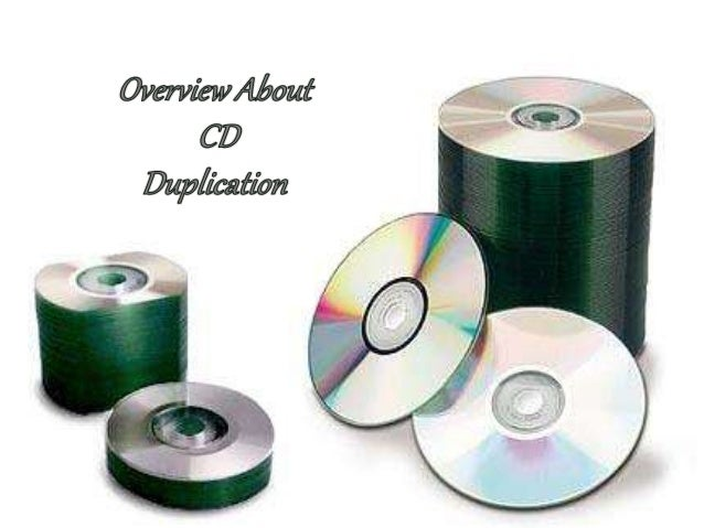 When doing the duplication of a CD, there are two major phases; first setting up the data, or information, to go onto the ...