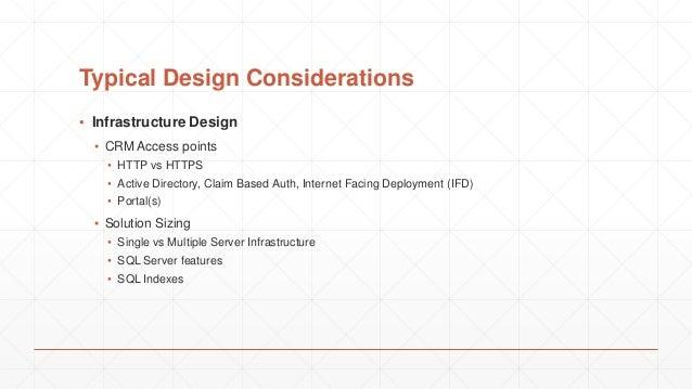 Dynamics CRM - Solution Architecture