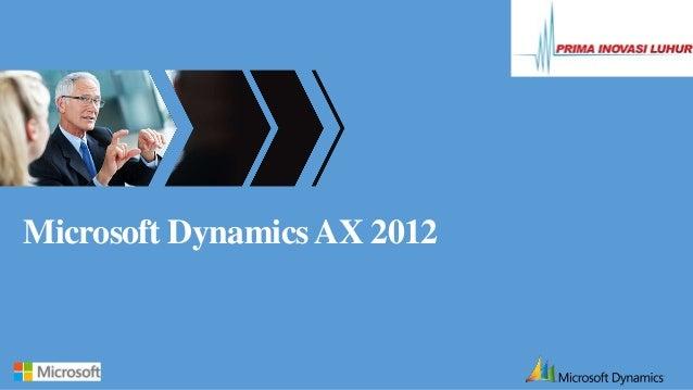Microsoft DynamicsAX 2012