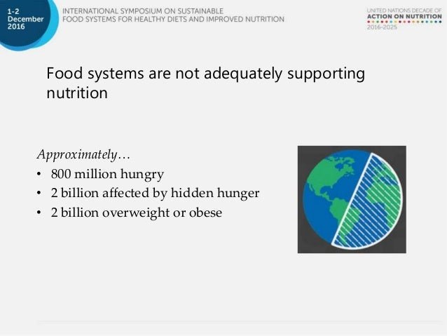 overview sustainable agriculture production and diversification for healthy diets dr anna herforth independent consultant usa - Production Consultant